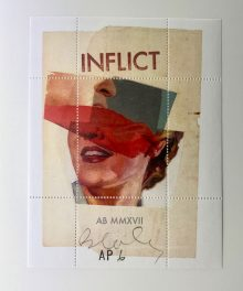 Allan Bealy artist stamp