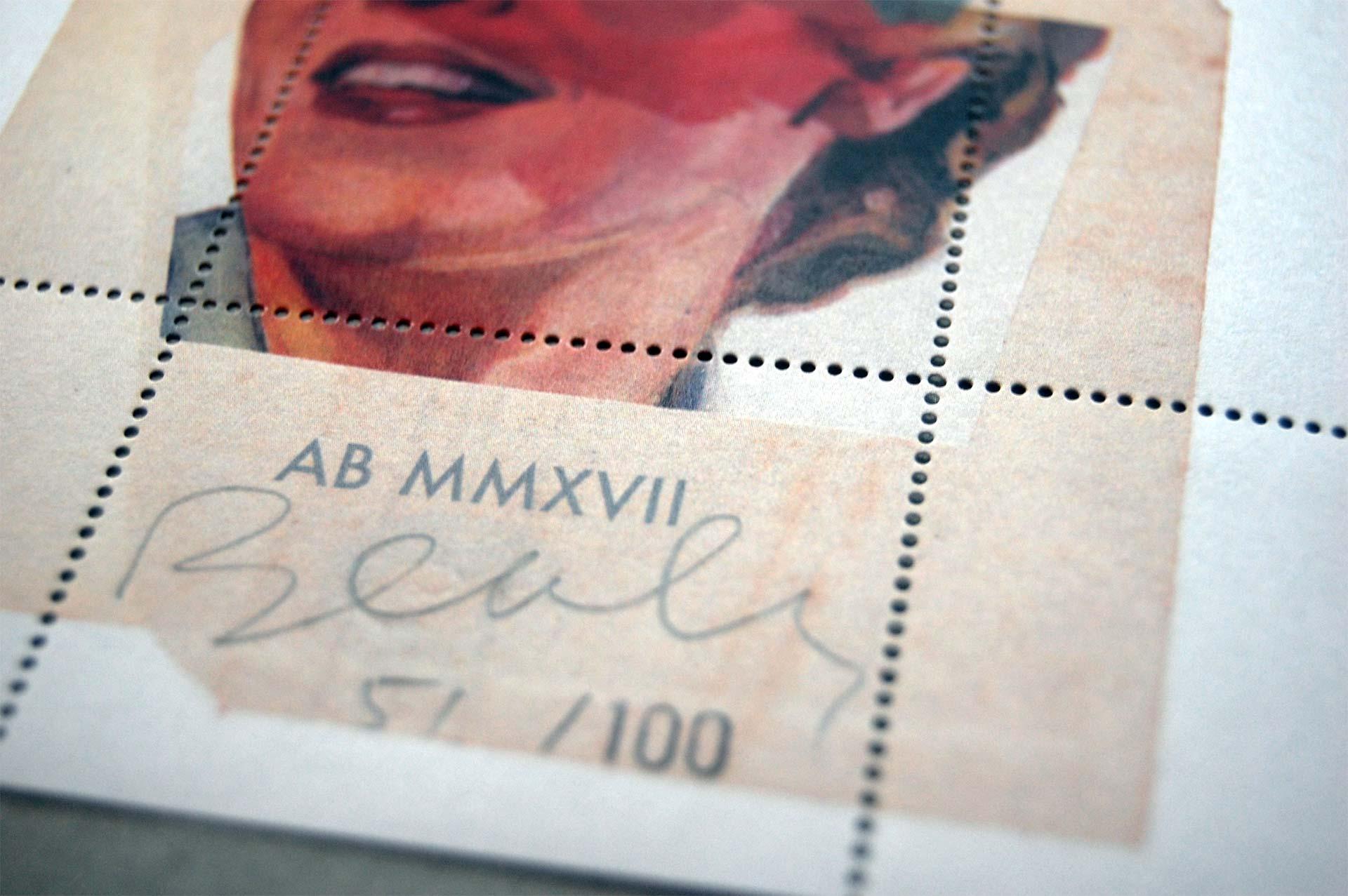 Artist stamp No. 2