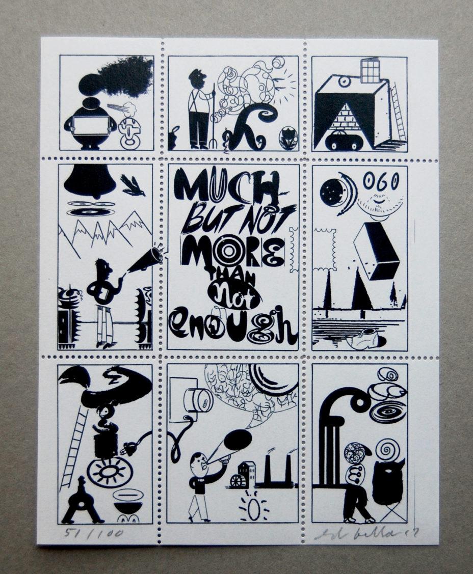 Artistamp No. 1 by Ed Fella