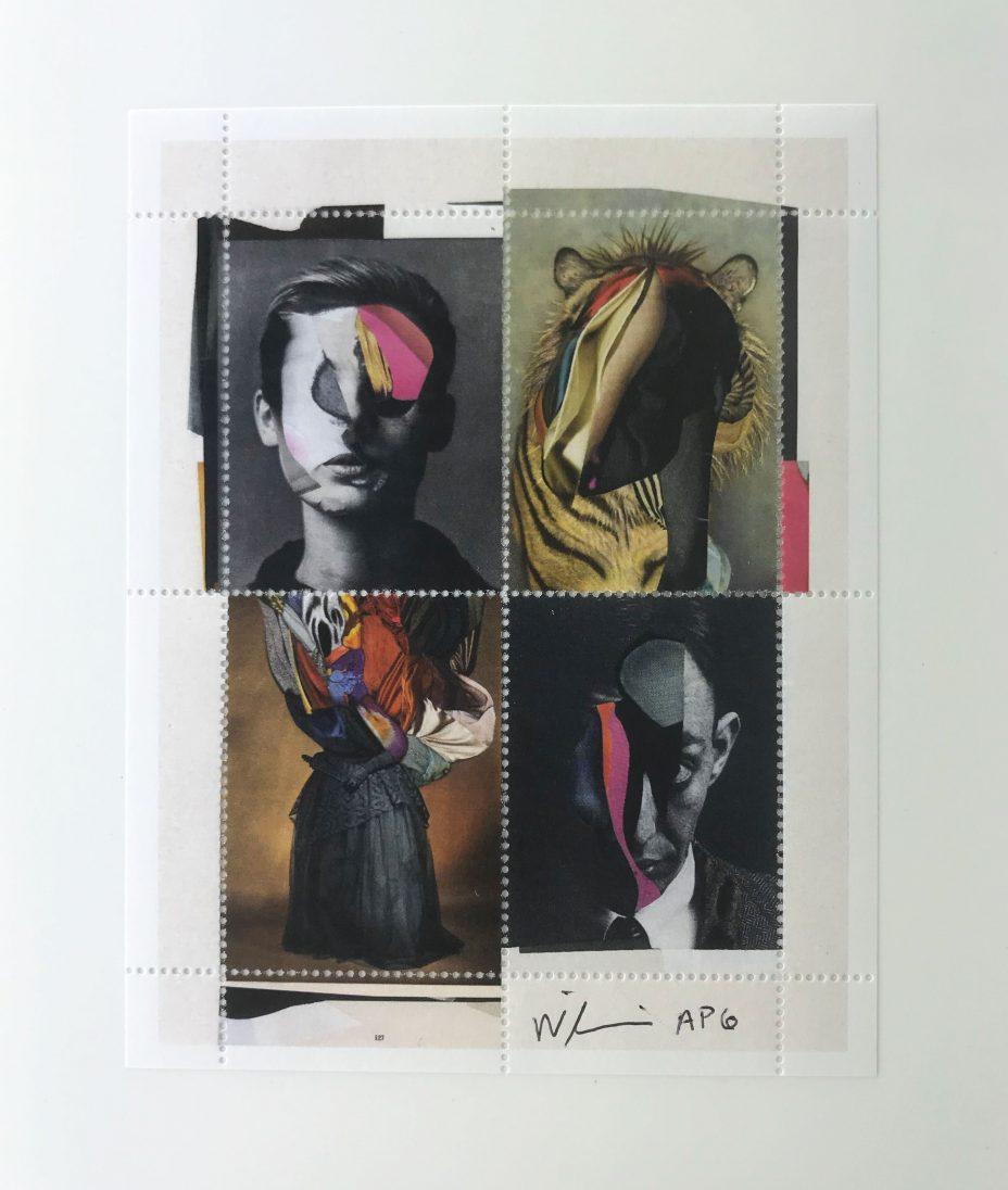 Charles Wilkin, artist series stamp no. 11