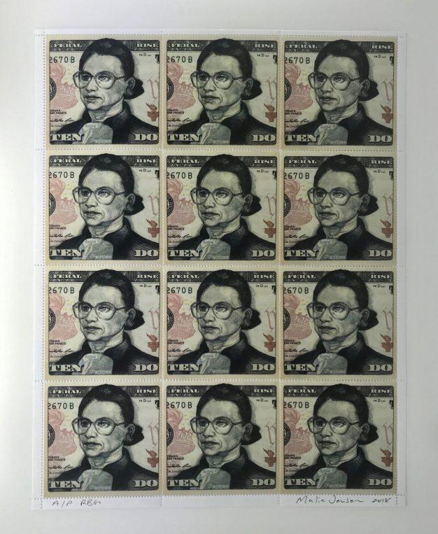 Malia Jensen Artist stamp No. 10
