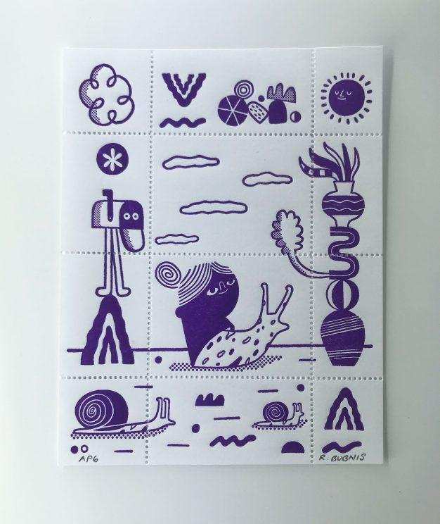 Artist stamp No. 19