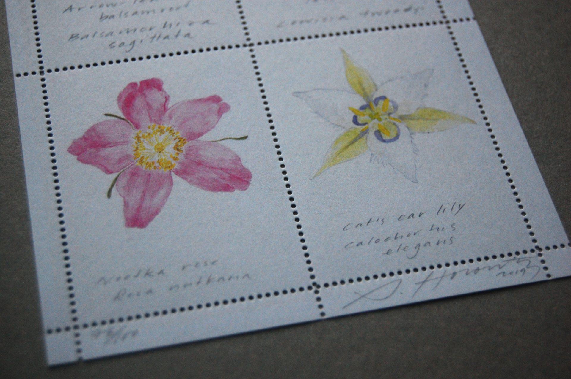 Sarah Horowitz artist stamp