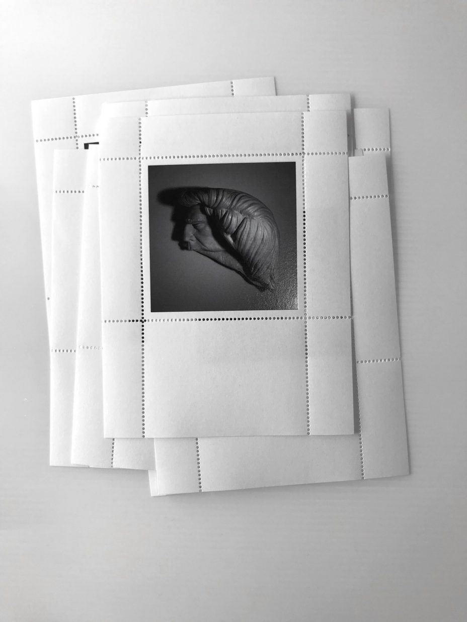 jim riswold the surreal orange stamp folio ten stamp sheets