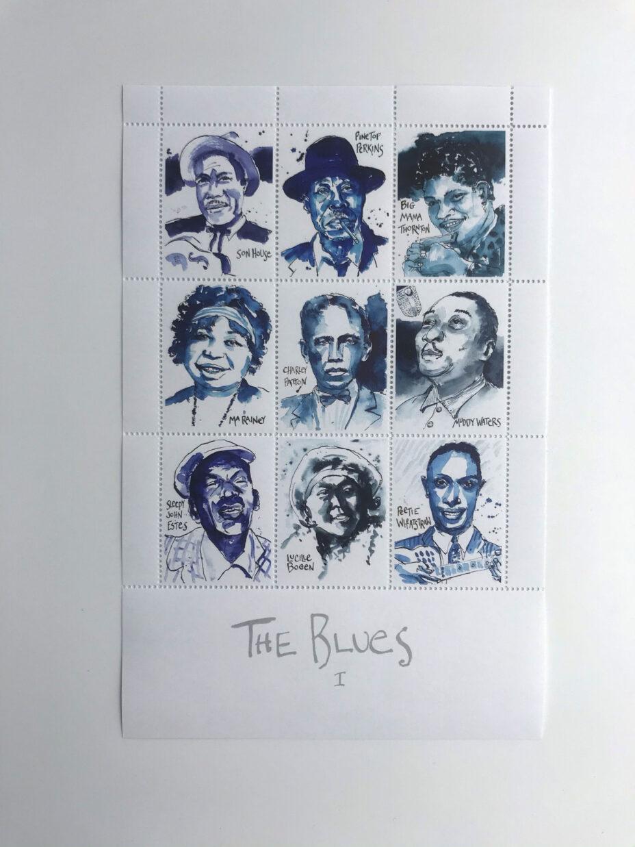 james terman the blues suite sheet 1