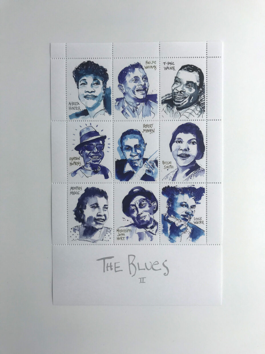 james terman the blues suite sheet 2