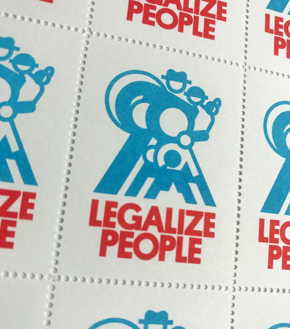 legalize people stamp detail